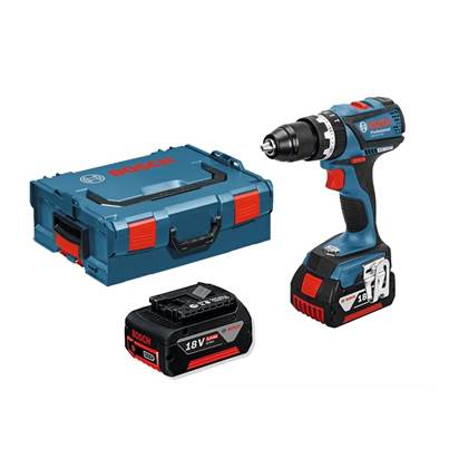 Bosch GSB18VEC 18v 2 Speed Brushless Combi Drill (2 x 5.0ah Batteries)