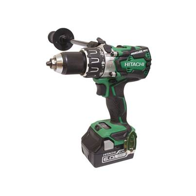 Hitachi DV18DBXL/JX 18V Brushless Combi Drill with 2 x 6.0Ah Li-Ion Batteries