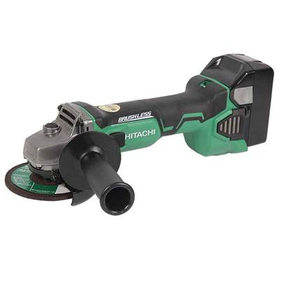 Hitachi G18DBAL/JJ 18V 2 x 5.0Ah Li-Ion Brushless Grinder Kit