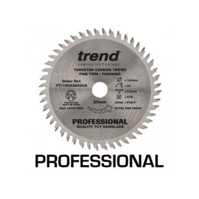 Trend 160mm TCT Professional Plunge saw Blade