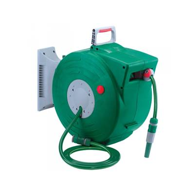 Draper 89210 20 Metre Retractable Wall Hung Garden Hose Reel