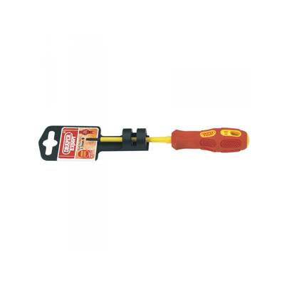Draper 69211 Expert 2.5mm x 75 mm Fully Insulated Plain Slot Screwdriver