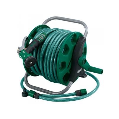 Draper 37993 30M Wind-Up Garden Hose Reel Kit