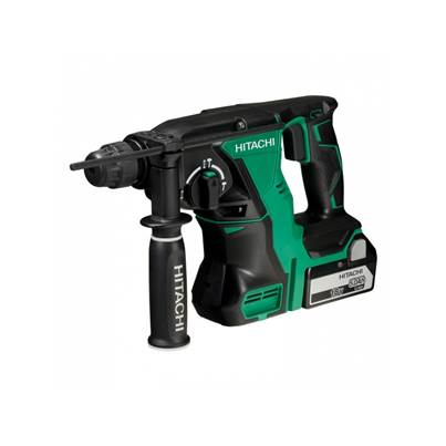Hitachi DH18DBL/JP 18v Brushless Cordless SDS+ Plus Hammer Drill With 2x 5.0Ah Batteries