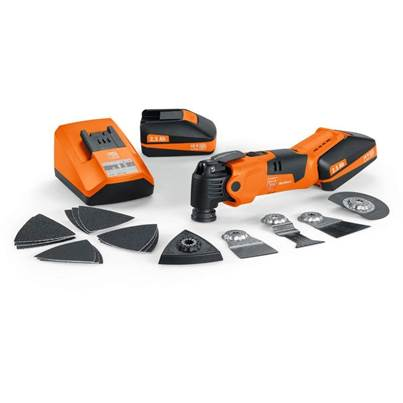 Fein AFMM18QSL 18v Cordless MultiMaster with 2 x 2.5Ah Li-Ion Battery