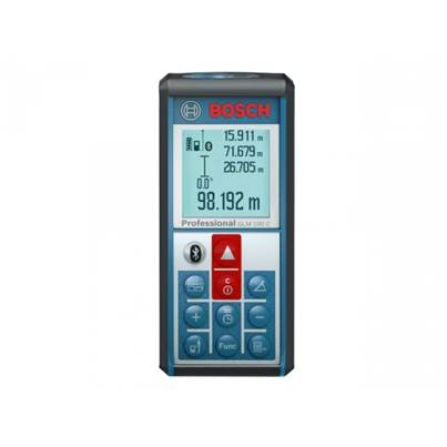 Bosch GLM100C Connectivity Rangefinder Including a Samsung Tab A7 in Black