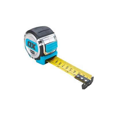 Ox Pro Heavy Duty Tape Measure 5M Metric Only