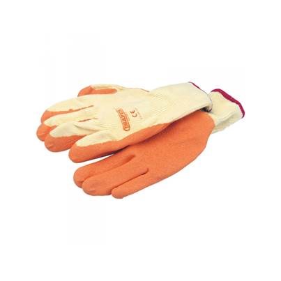 Draper 27624 Expert Orange Heavy Duty Latex Coated Work Gloves - Extra Large