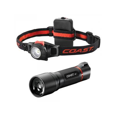 Coast HP7 Flashlight with a Free HL7 Headlamp