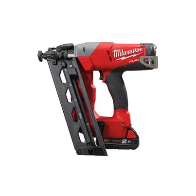 Milwaukee M18CN16GA-202X Fuel 16G Angled Nailer 18 Volt 2 X 2ah Batteries