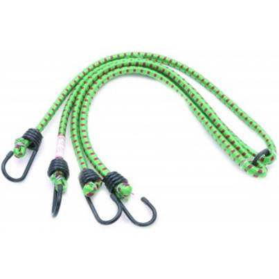 Rolson 2pc Bungee Cord Set 600mm