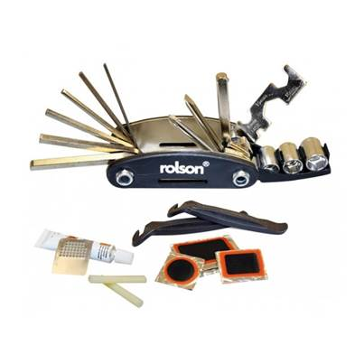 Rolson 30 Piece Bicycle & Puncture Repair Kit