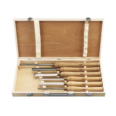 Draper 6 Piece Hss Woodturning Chisel Set