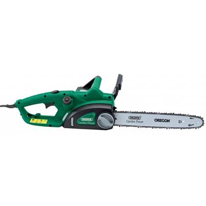 Draper 1500W 350mm 230V Chainsaw With Oregon Chain And Bar