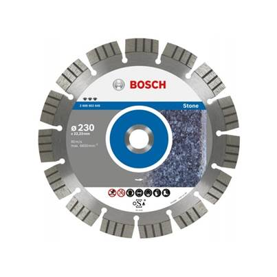 Bosch 115mm Expert Quality Diamond Disc For Stone