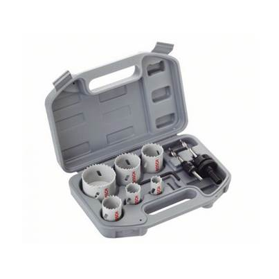 Bosch 9-piece plumber holesaw set, bi-metal