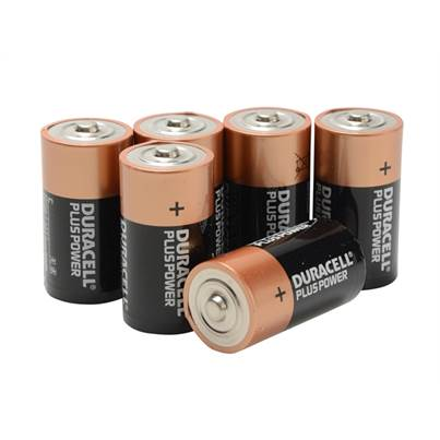 Duracell C-Cell Batteries Multi-Pack of 6