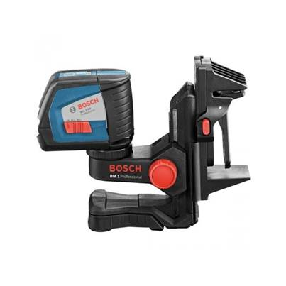 Bosch GLL 2-50BM Professional Line Laser & Wall Mount BM1 And Ceiling Clamp