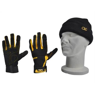 Kunys CLC Flexible Work Gloves & Beanie Hat