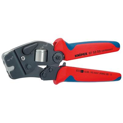 Knipex 97 53 09 Self-Adjusting Crimping Pliers for End Sleeves (ferrules)