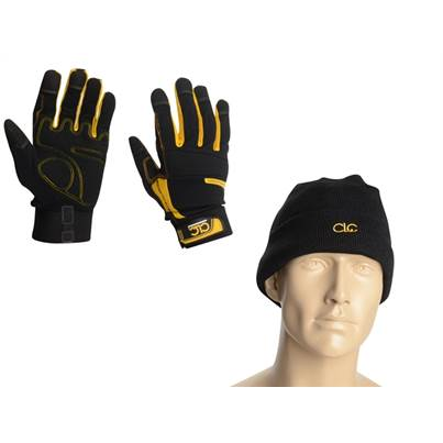 CLC CLC Gloves with Beanie Hat