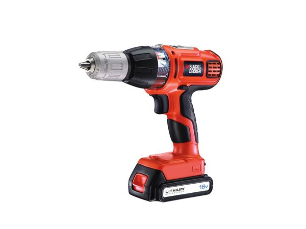 Black & Decker ASL188K Autoselect Hammer Drill 18 Volt