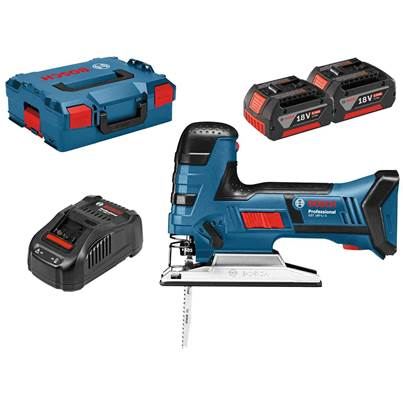Bosch GST 18 V-LI S Cordless Jigsaw With 2 x 5.0Ah Batteries In LBoxx