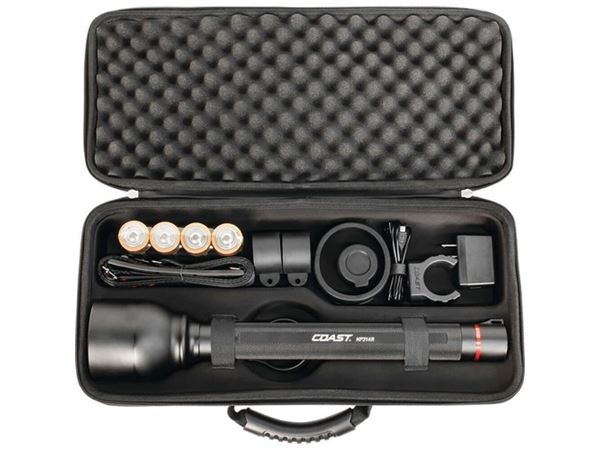 Coast HP314R Ultra Distance rechargeable Torch Kit