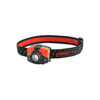Coast Dual Colour Focusing Head Torch FL75