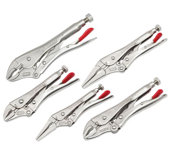 Crescent® Locking Plier Set 5 Piece