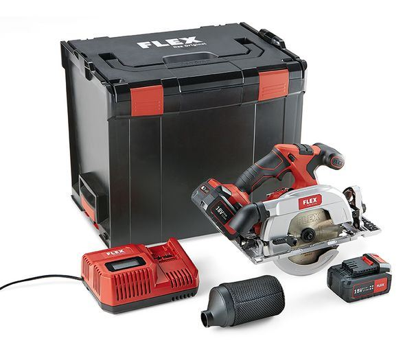 Image of Flex CS62 18 Volt Cordless Circular Saw Brushless Motor Bare Unit ( No Batteries )