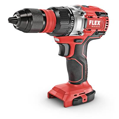 FLEX DD2G 18.0 EC Brushless Cordless Drill Driver body only with hard case