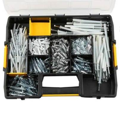 DEWALT 350 piece fixing kit