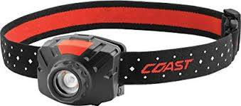 Coast LED Head Torch Flood Beam Black FL60