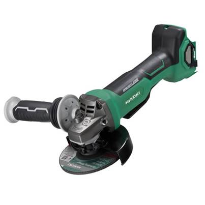 HiKOKI G3613DB/JRZ 125mm MultiVolt Cordless Disc Grinder With Paddle Switch And Brake 18-36V