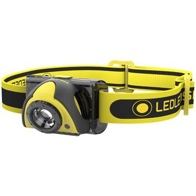 LED Lenser ISEO5R Rechargeable Professional Head Torch In Gift Box