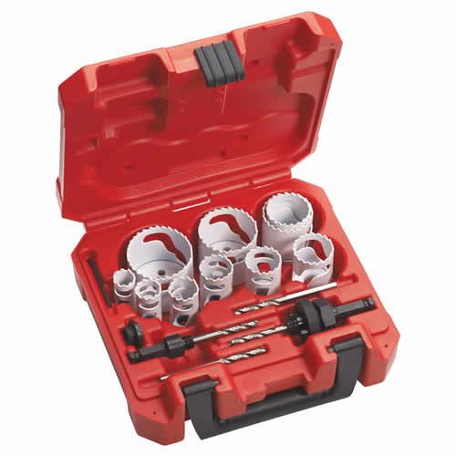 14 Piece Holesaw Set