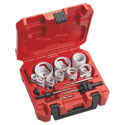 Milwaukee 14 Piece Holesaw Set