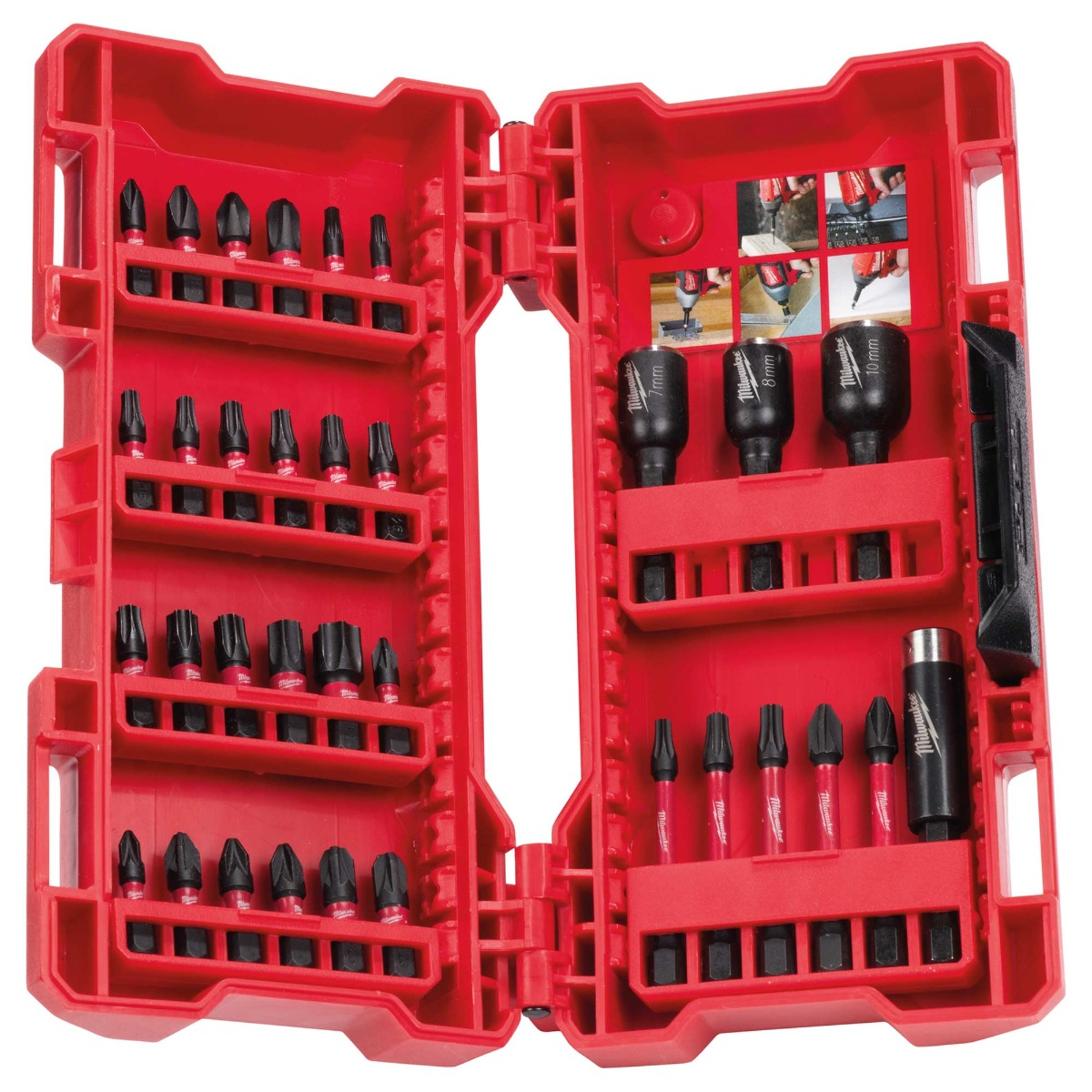 4932430905 33 pce Shockwave Impact Bits and Nut Drivers Set