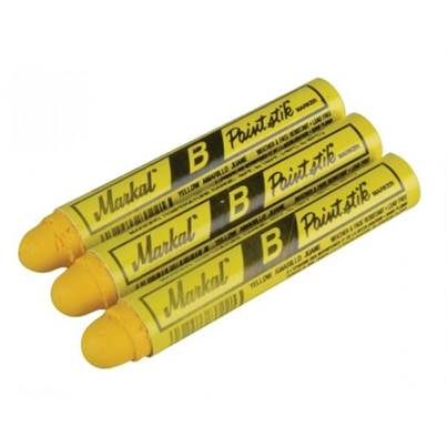 Markal Paintstick Yellow Pack of 3  MKL80296