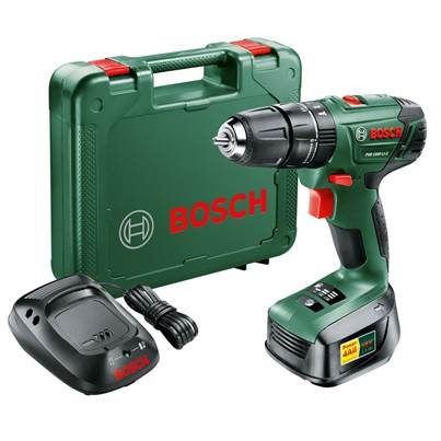 Bosch PSB 1800 LI-2 Lithium-ion cordless two-speed combi Drill 1 x Battery