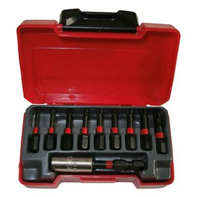 Teng TMC010 Impact Construction Bits Set 10 Piece