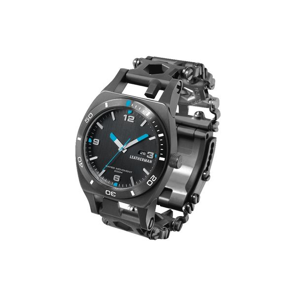 Tread Tempo Wristwatch Multitool - Black
