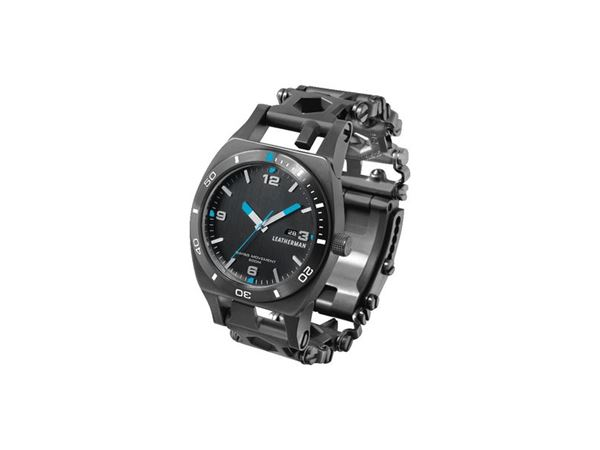 Leatherman Tread Tempo Wristwatch Multitool - Black