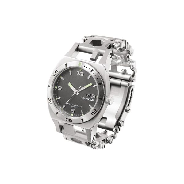 Tread Tempo Wristwatch Multitool - Stainless Steel
