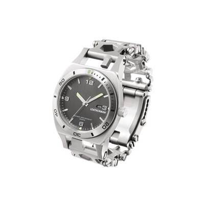 Leatherman Tread Tempo Wristwatch Multitool - Stainless Steel